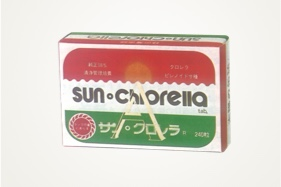 Started selling Sun Chlorella A Tablets pulverized the outer cell wall
